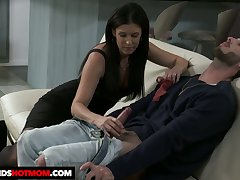 Dark haired sweetheart India Summer rides detect like a wonderful qualified
