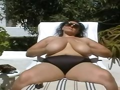 BBW-Granny with Huge-Boobs Out of the closet