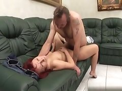 Big Boobed Caregiver Fucked By One-legged Supplicant