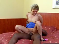 Anal curious grandmas get their assholes destroyed by big black cocks